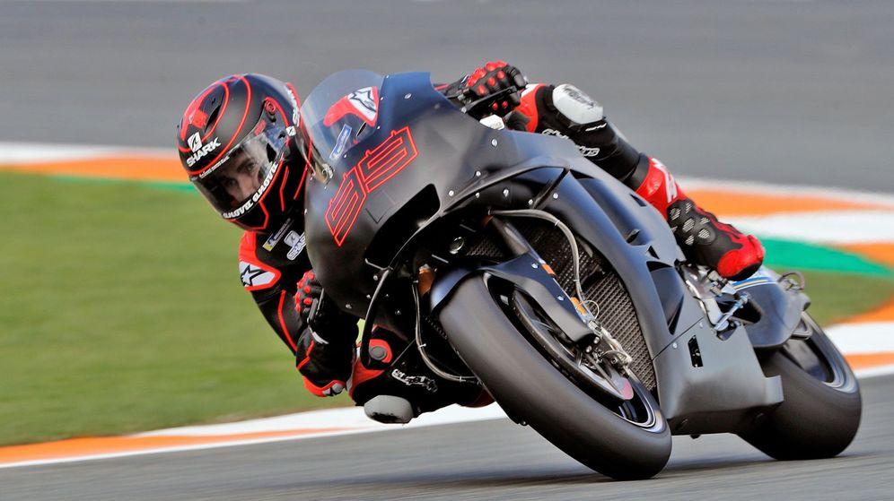 Foto: Jorge Lorenzo se subió a la Honda en noviembre. Y no lo hará de nuevo hasta finales de febrero. (EFE)