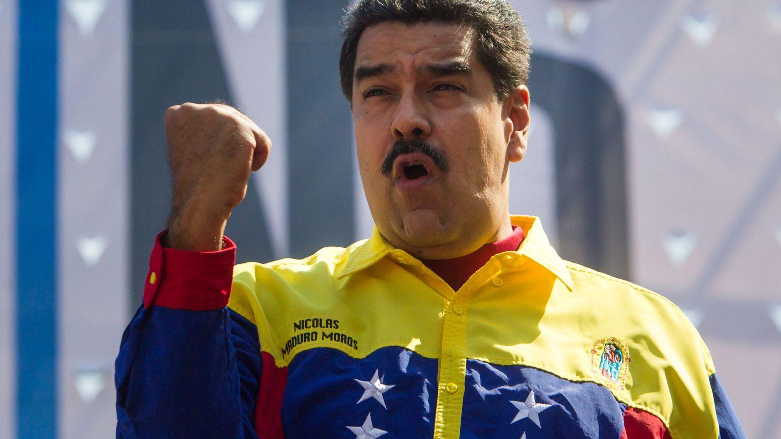 Foto: El presidente de Venezuela, Nicolás Maduro, en una fotografía de archivo. (Efe)