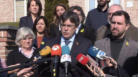 Puigdemont entra al Parlamento Europeo invitado por el grupo que tendió la mano a Vox