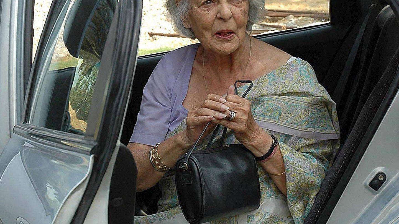 Gayatri Devi, en una de las últimas fotografías que existen de ella. (EFE)