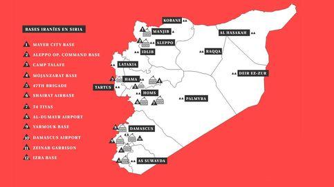 Radiografía de las bases secretas de Irán en Siria