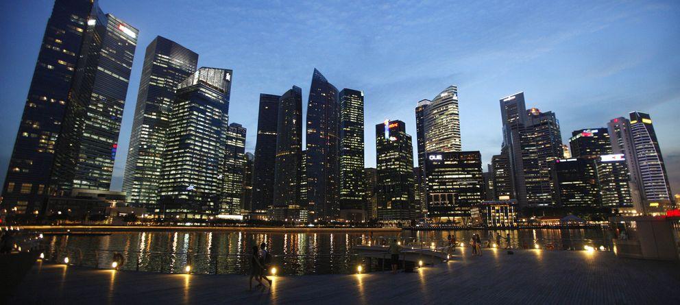 Foto: Vista del distrito de negocios en Singapur. (REUTERS)
