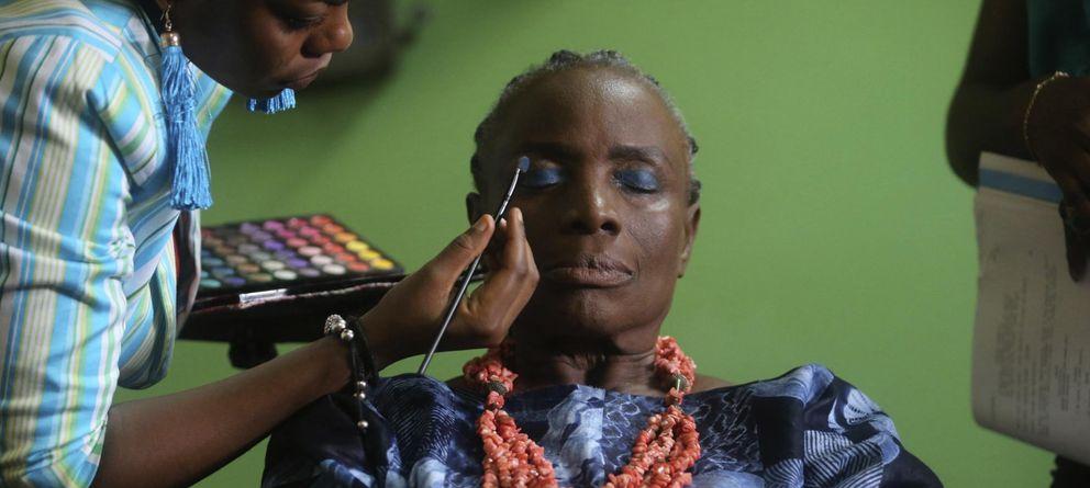 Foto: La actriz nigeriana Ajayi-Lycette (EFE)