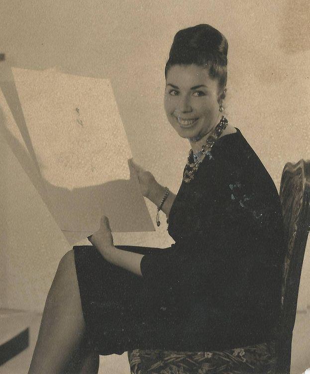 Foto: Lina, en una imagen de sus inicios. (Foto: lina1960.com)