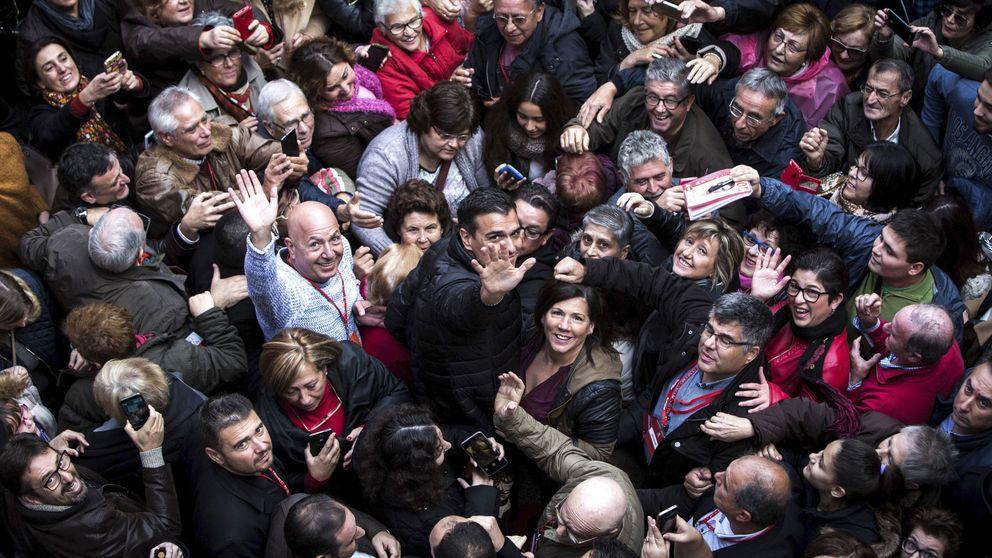 """""""Sí, sí, Pedro ya está aquí"""": Sánchez arranca a ritmo de Internacional"""