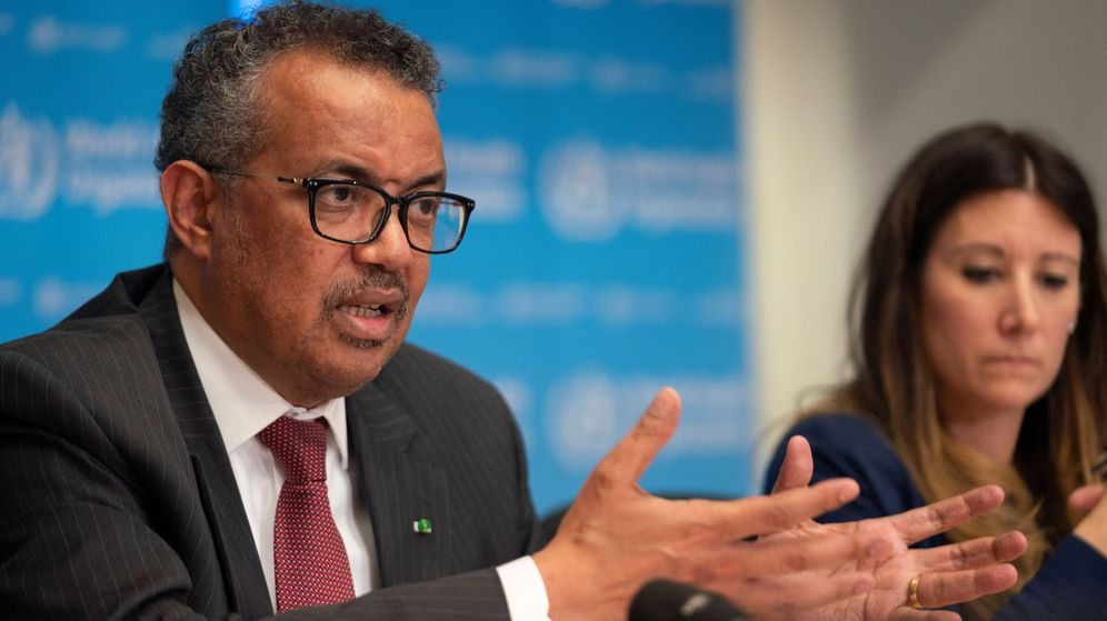 Foto: El director general de la OMS, Tedros Adhanom (REUTERS)