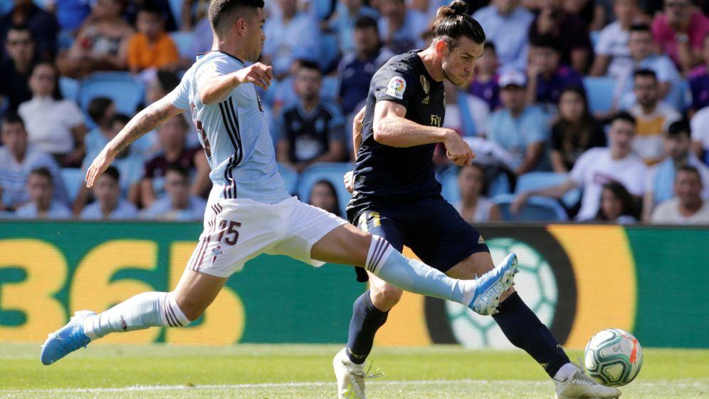 Foto: Gareth Bale en el momento de la asistencia a Benzema. (Reuters)