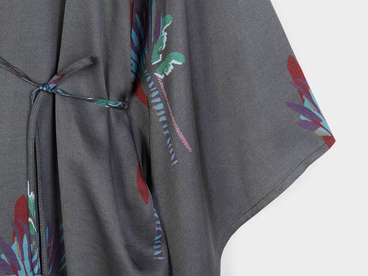 Foto: Kimono de palmeras de Parfois. (Cortesía)