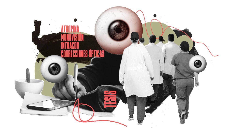 La tesis doctoral colectiva del cirujano que opera de la vista en el barrio de Salamanca