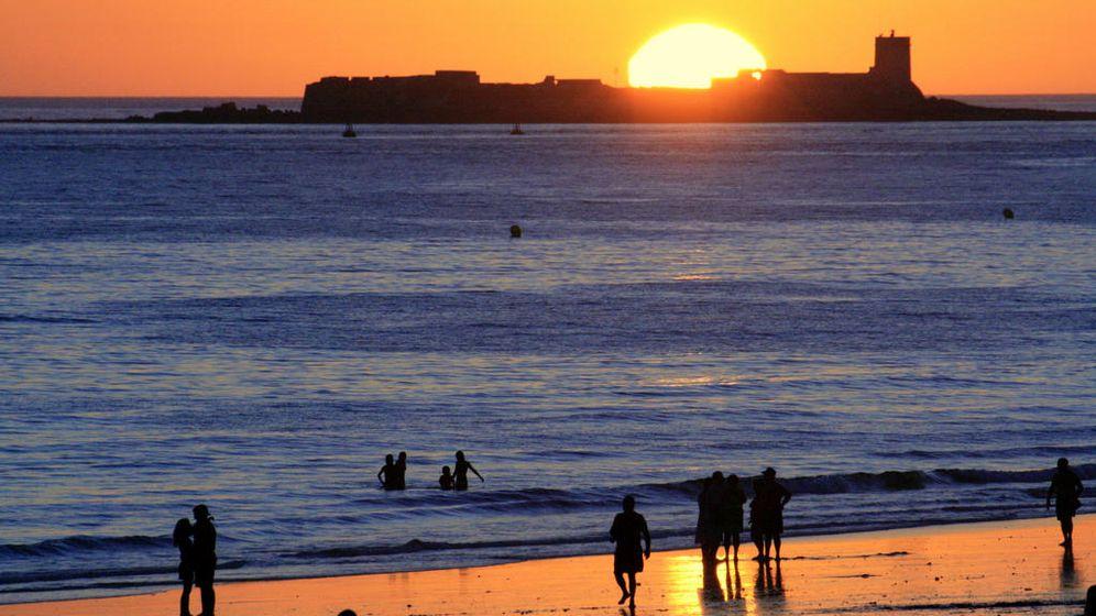 Foto: Atardecer en Playa de la Barrosa, Cádiz (Flickr/Sergi Gisbert)