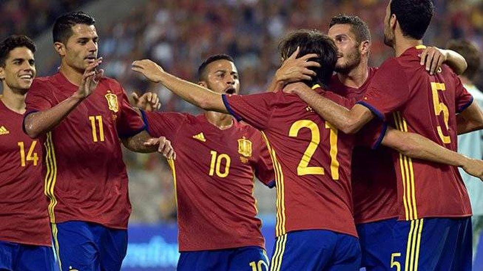España vence a Bélgica y reporta un fantástico 28% a Telecinco