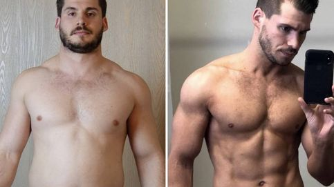 Este hombre perdió 19 kilos en 12 semanas: la rutina que siguió