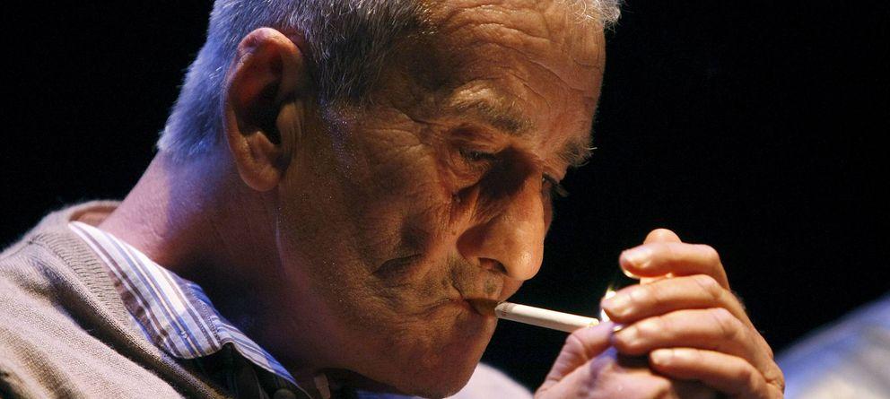 Foto: Leopoldo María Panero, en el Festival Eñe de 2009. (EFE)