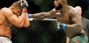 Post de UFC Washington: el brutal KO en salto de Jairzinho Rozenstruik a Alistair Overeem