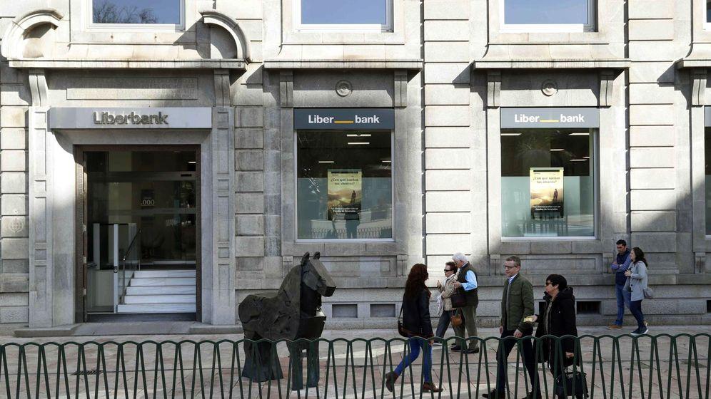 Foto: Oficina de Liberbank (Efe)