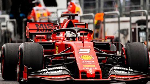 Ferrari y Vettel o cómo cortar el césped sirvió para encontrar el mejor ritmo en México