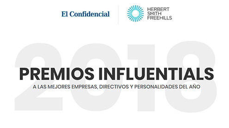 Premios Influentials 2018 a las mejores empresas, directivos y personalidades del año