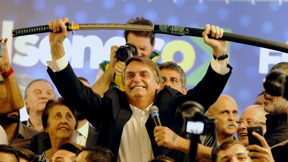 Foto: El presidente de Brasil, Jair Bolsonaro. (EFE)