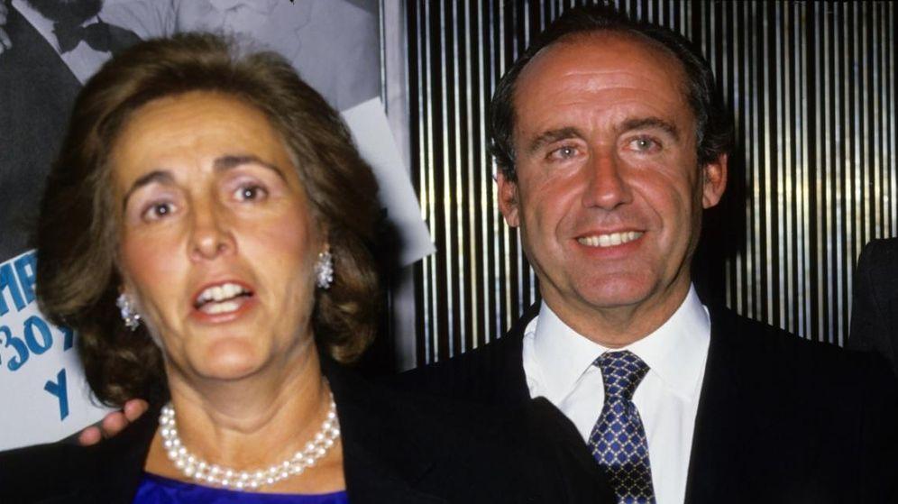 Foto: Ruiz-Mateos y Teresa Rivero, en una imagen de archivo (Gtres)