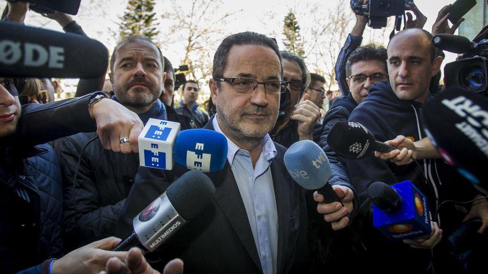 Foto: Agapito Iglesias, expresidente del Zaragoza. (EFE)
