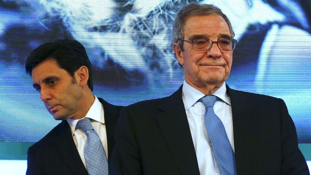 Foto: César Alierta (dcha.) y José María Álvarez-Pallete. (Reuters)