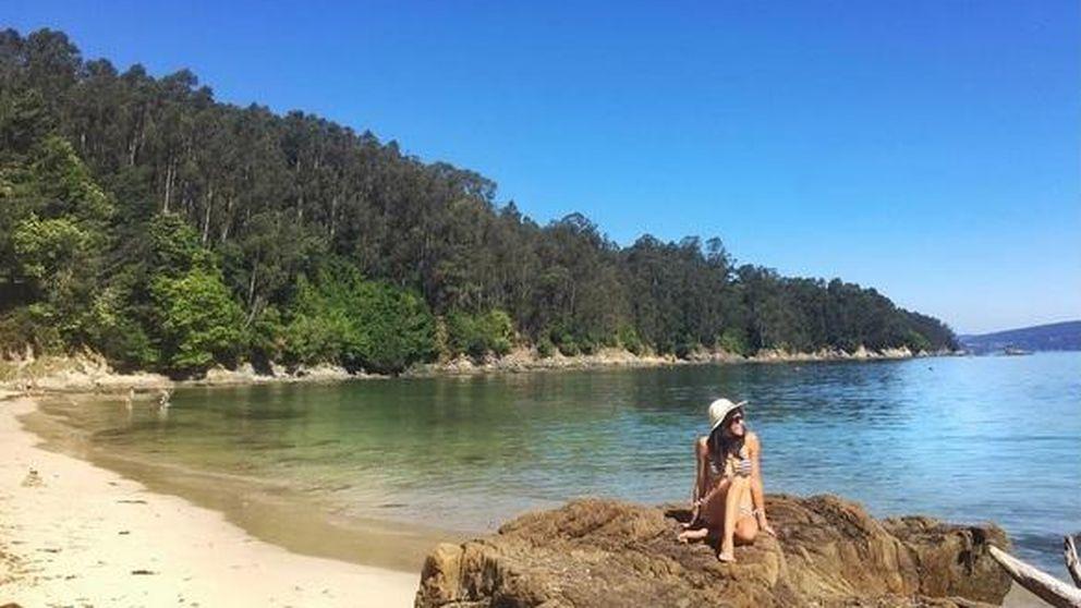Raquel del Rosario y sus vacaciones familiares en el norte de España