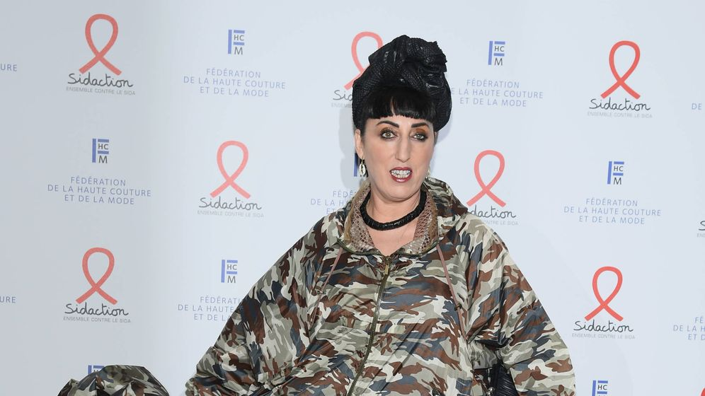 Foto: Rossy de Palma, en la Sidaction Gala Dinner 2020. (Getty)