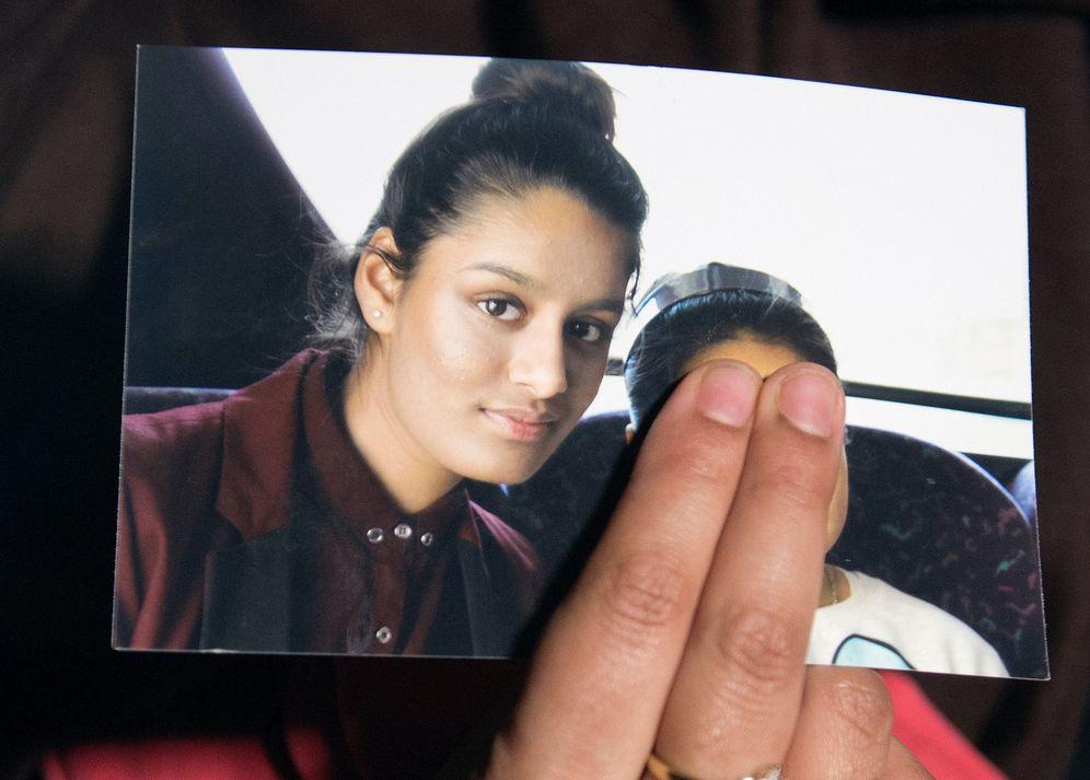 Foto: Una imagen de la joven británica Shamima Begum. (Reuters)