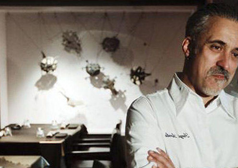 Foto: El chef Sergi Arola en su restaurante Gastro