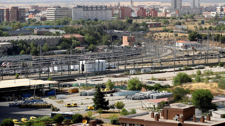 Zona donde se desarrollará la llamada Operación Chamartín de Madrid. (EFE)