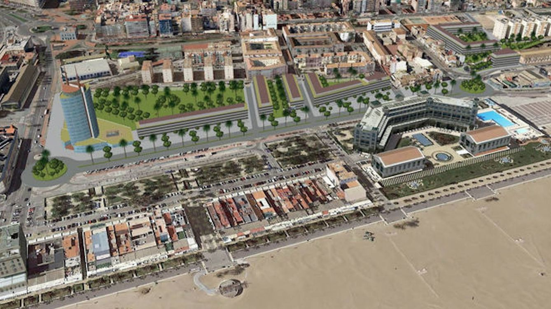 Valencia entierra la demolición del Cabañal de Barberá (y Solvia se apunta con más pisos)