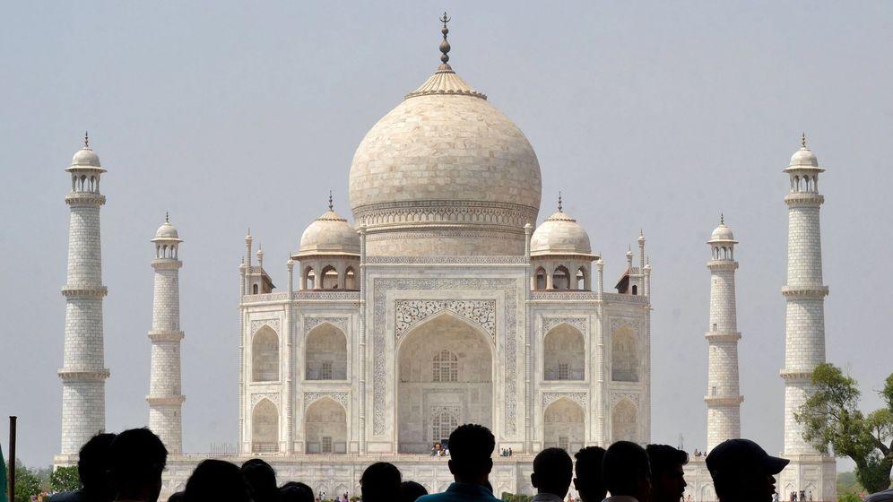 Foto: Vista general del Taj Majal en Agra, India. (EFE)
