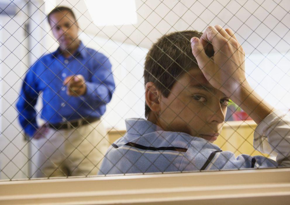 Foto: ¿Es necesario ser duro para educar a los jóvenes? (Corbis)
