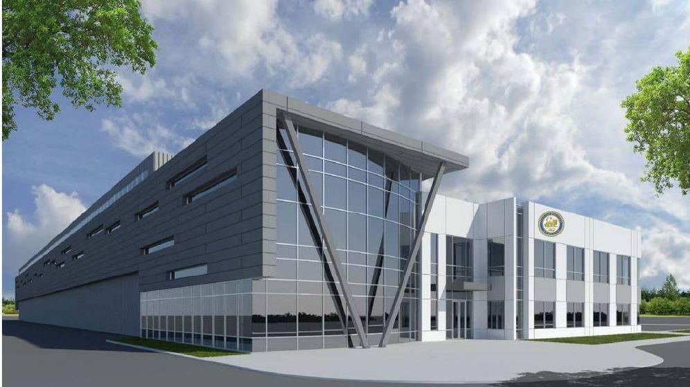 Foto: Maqueta de la futura planta de FCC en Houston.