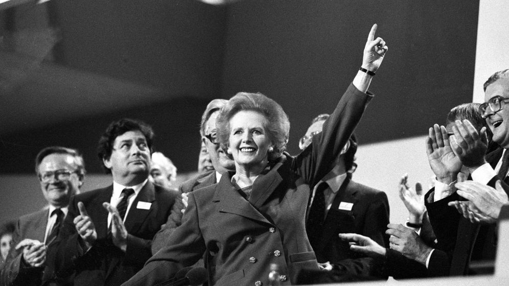 Foto: Margaret Thatcher en 1989. (Reuters)