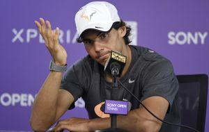 Nadal y Nole, a la final de Miami sin jugar y Rafa no se ve favorito