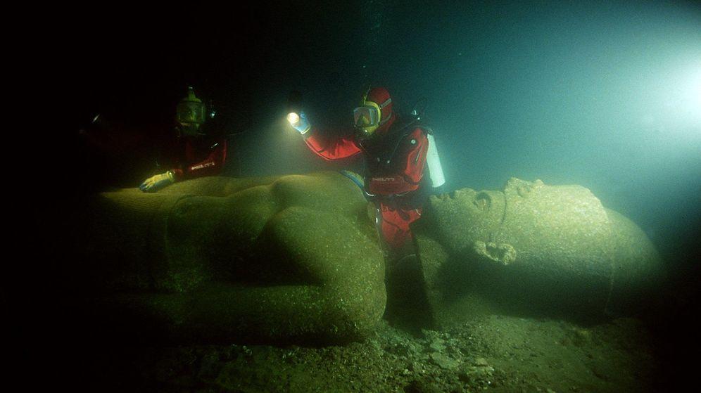 Foto: Imagen de las exploraciones submarinas ( Christoph Gerigk/ Franck Goddio/Hilti Foundation)
