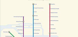 Post de Sennaya Ploshchad, la estación donde se produjo el atentado de San Petersburgo