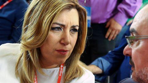 Del 'shock' a la pena: así fueron las 24 horas más tristes de Susana Díaz