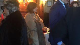 Aznar y Botella, acaramelados por San Valentín en su restaurante favorito de NYC
