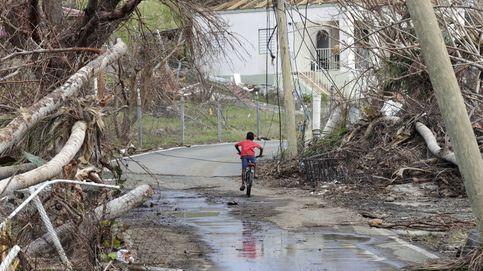 Devastación tras el huracán María