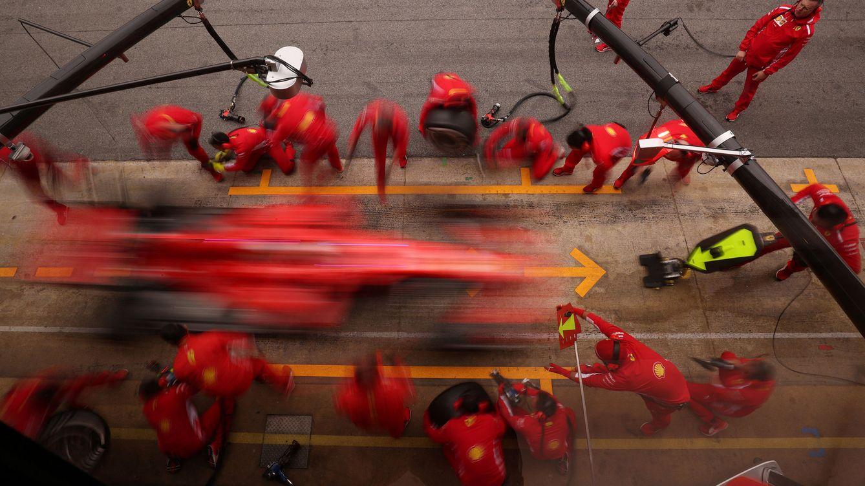 Este no es mi equipo Ferrari, que me lo han cambiado