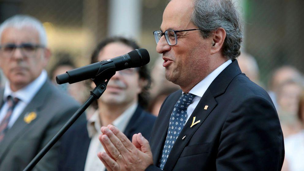 Torra pide encender pacíficamente las calles de Cataluña en las próximas semanas