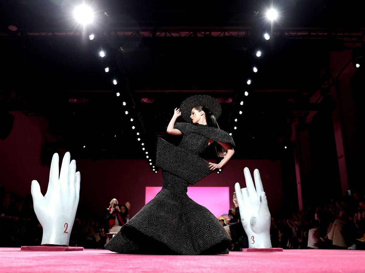 Foto: Desfile de Christian Siriano en la pasada Semana de la Moda de Nueva York. (EFE)