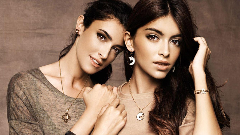 Foto: Lucía Rivera da sus primeros pasos como modelo con su madre