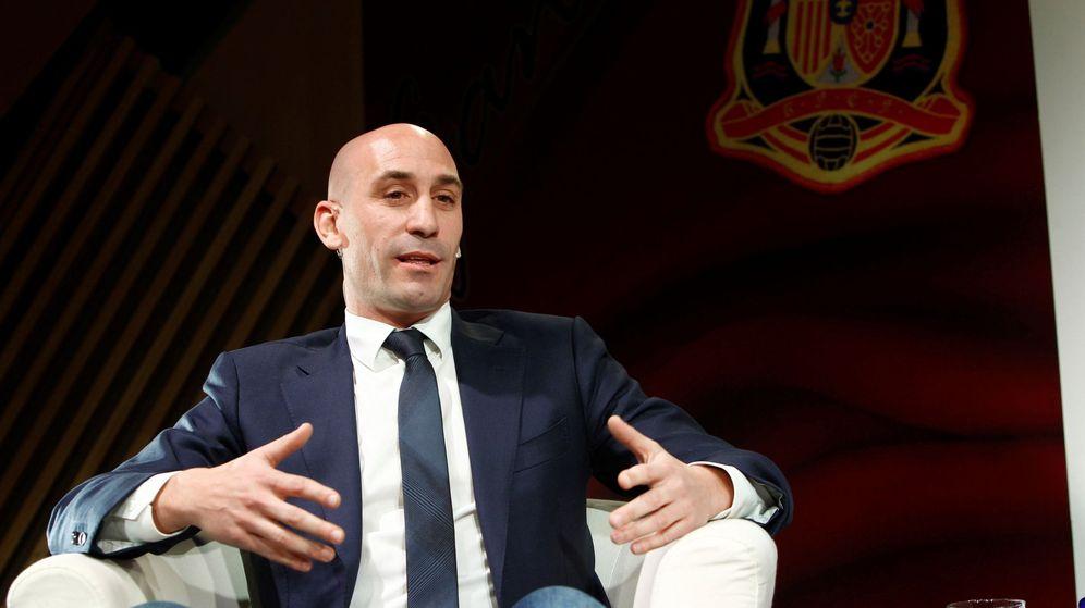 Foto: Luis Rubiales, candidato a presidencia de Federación Española de Fútbol. (EFE)