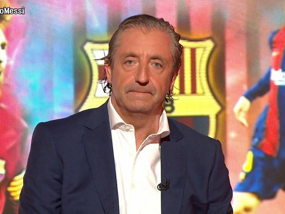 Foto: Josep Pedrerol, en 'El chiringuito de jugones'. (Atresmedia Televisión)
