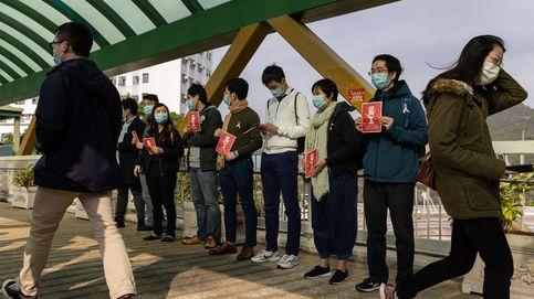 Huelga de médicos en Hong Kong para exigir el cierre de su frontera con el resto de China