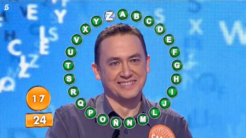 'El rosco' con el que Adán ganó 318.000 euros. (Mediaset)