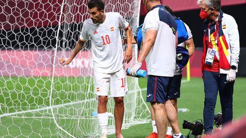 Buenas noticias para el fútbol olímpico: Mingueza está listo y no se descarta a Ceballos